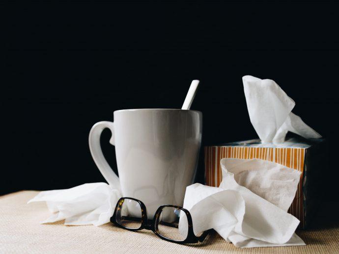Le rhume, la grippe et l'intestin